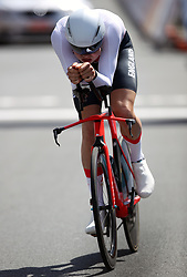 England's Harry Tanfield in action during the Men's Individual Time Trial at Currumbin Beachfront on day six of the 2018 Commonwealth Games in the Gold Coast, Australia.