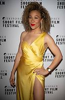 Ria Hebden at the TriForce Short Film Festival gala ceremony, BFI Southbank, London, UK - 30 Nov 2019