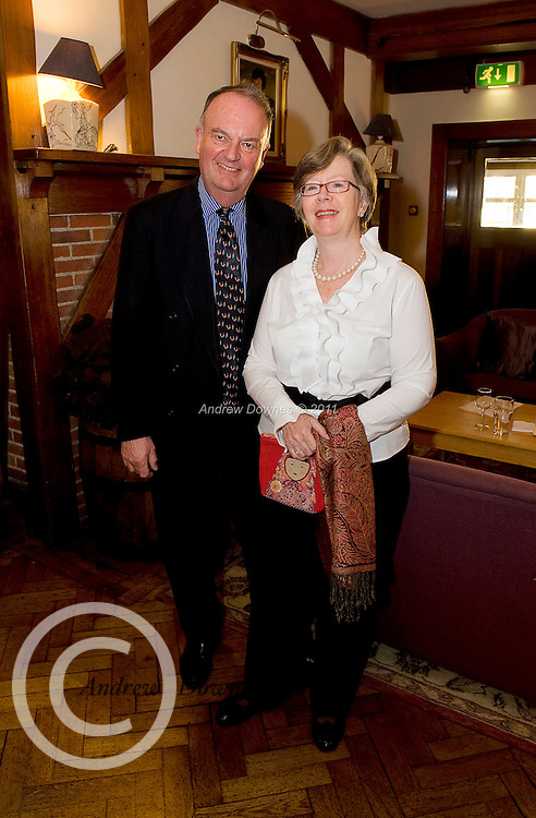 Renvyle House and its award winning chef Tim O Sullivan have teamed up with J&C Kenny International Wine Distributors and brought a weekend of interesting talks on the making and tasting of wine. John and Sally Coyle , Long Walk Galway attended Photo:Andrew Downes