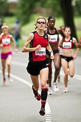 NYRR Mini 10K road race (40th year); Lindsay Scherf