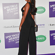 Samira Mighty attend Spectacle Wearer of the Year 2018 at 8 Northumberland avenue, on 23 October 2018, London, UK.