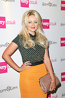 Emily Atack, Fearne Cotton launches her SS14 fashion collection for Very.co.uk, Claridges, London UK, 12 September 2013, Photo by Richard Goldschmidt