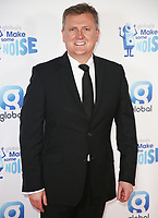 Aled Jones, Global's Make Some Noise Night in London, Finsbury Square Marquee, London UK, 20 November 2018