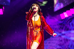 May 28, 2019 - London, United Kingdom of Great Britain and Northern Ireland - Charli XCX performing at the O2 Arena on May 23 2019 in London  (Credit Image: © Famous/Ace Pictures via ZUMA Press)