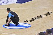 DESCRIZIONE : Eurocup 2015-2016 Last 32 Group N Dinamo Banco di Sardegna Sassari - Cai Zaragoza<br /> GIOCATORE : Arbitro Logo Eurocup Tomas Trawicki<br /> CATEGORIA : Arbitro Referee Curiosità<br /> SQUADRA : Arbitro Referee<br /> EVENTO : Eurocup 2015-2016<br /> GARA : Dinamo Banco di Sardegna Sassari - Cai Zaragoza<br /> DATA : 27/01/2016<br /> SPORT : Pallacanestro <br /> AUTORE : Agenzia Ciamillo-Castoria/L.Canu