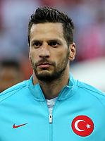 Uefa - World Cup Fifa Russia 2018 Qualifier / <br /> Turkey National Team - Preview Set - <br /> Hakan Balta