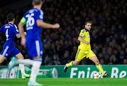 Mitja Viler of Maribor during football match between Chelsea FC and NK Maribor, SLO in Group G of Group Stage of UEFA Champions League 2014/15, on October 21, 2014 in Stamford Bridge Stadium, London, Great Britain. Photo by Vid Ponikvar / Sportida.com