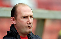 Photo: Leigh Quinnell.<br /> Swindon Town v Grimsby Town. Coca Cola League 2. 14/10/2006. Grimsby manager Graham Rodger looks on.