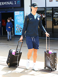 Joe Hart and The Manchester City Team return to Manchester on Sunday afternoon after their pre season tour of the USA.