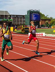 mens 4x400 relay, Lyles, USA