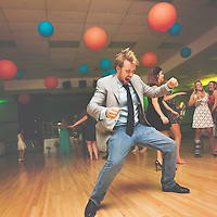 Wedding Photography by Connie Roberts Photography<br /> Serious dancing at the reception