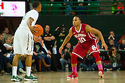 WACO, TX - JANUARY 24: Jordan Woodard #10 of the Oklahoma Sooners defends against the Baylor Bears on January 24, 2015 at the Ferrell Center in Waco, Texas.  (Photo by Cooper Neill/Getty Images) *** Local Caption *** Jordan Woodard