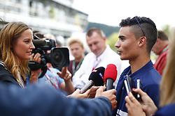 August 24, 2017 - Spa-Francorchamps, Belgium - Motorsports: FIA Formula One World Championship 2017, Grand Prix of Belgium, .#94 Pascal Wehrlein (GER, Sauber F1 Team) (Credit Image: © Hoch Zwei via ZUMA Wire)