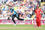 Worcestershire Rapids Wayne Parnell during the Vitality T20 Finals Day semi final 2018 match between Worcestershire Rapids and Lancashire Lightning at Edgbaston, Birmingham, United Kingdom on 15 September 2018.