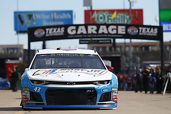 November 2, 2018 - Ft. Worth, Texas, United States of America - Darrell Wallace, Jr (43) takes to the track to practice for the AAA Texas 500 at Texas Motor Speedway in Ft. Worth, Texas. (Credit Image: © Justin R. Noe Asp Inc/ASP via ZUMA Wire)