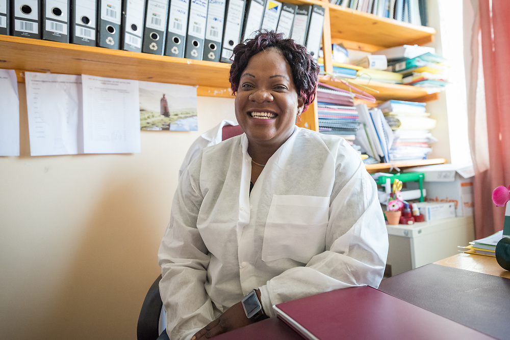 2 March 2017, Ma Mafefooane Valley, Lesotho: Medical director Dr Kambulandu. Saint Joseph's Hospital is a district hospital in the Ma Mafefooane Valley in Lesotho. The hospital was established in 1937 and is run as a Roman Catholic non-profit institution by the Christian Health Association of Lesotho. As a district hospital, it offers comprehensive healthcare including male, female, paediatric, Tuberculosis and maternity care. It is closely linked with the neighbouring Roma College of Nursing, which runs on similar premises as part of the same institution. Drug supplies are secured to the hospital by means of a Memorandum of Understanding with the government.