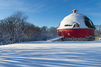 Ryan's Round Barn is one of the first things you see when entering Johnson Sauk Trail State Park. It was built in 1910 and is one of the largest round barns in the country.