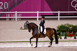 TOKYO - Olympische Spiele / Olympic Games 2021<br /> <br /> SCHNEIDER Dorothee (GER), Showtime FRH<br /> Grand Prix de Dressage<br /> <br /> Tokio, Equestrian Park<br /> 25. July 2021<br /> © www.sportfotos-lafrentz.de/Stefan Lafrentz