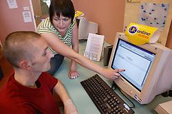 Keyworker training Service User in Computer skills ,