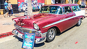 1956 Chevrolet Nomad at the Huntington beach car show March 2016