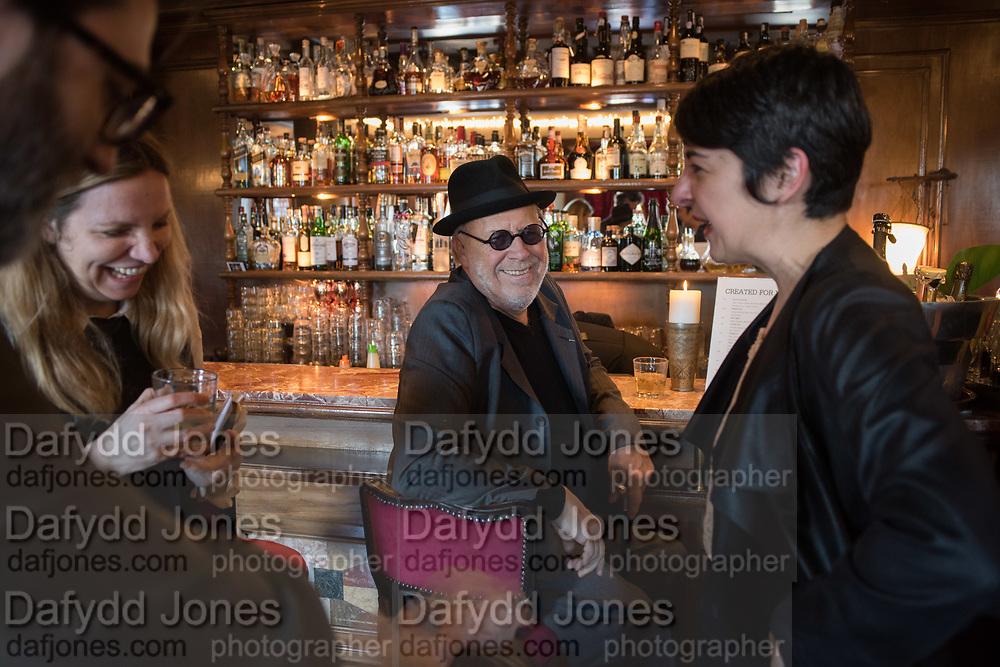 FIONA BIGGIERO; JOSEPH KOSUTH, Joseph Kosuth and Gavin Turk in COLLECTION, curated by Fiona Biggiero and James Putnam - Private view 9 May, 4pm at Metropole Hotel, Venice Venice Biennale, 9 May 2017