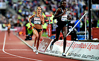 Friidrett , 9. juni 2016 , Diamond League , Bislett Games<br /> Athletics , <br /> Charlotta Fougberg , SWE , 3000 m h