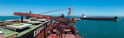 Iron Ore Cargo Vessel, in Saldanha Bay