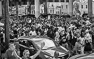 Second-line for  New Orleans legendary musician, Dr. John (Mac Rebennack) in New Orleans. that began and ended at Kermit's Treme Mother In Law Lounge.  Dr. John died of a heartattack on Jume 6, 2019