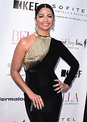 BEVERLY HILLS, CA - JUNE 23:  Camila Alves at the Bella Summer Issue Cover Party at Sofitel on June 23, 2017 in Beverly Hills, California. (Photo by Scott Kirkland/PictureGroup) *** Please Use Credit from Credit Field ***