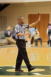 08 February 2014:  Ronnie Jones during an NCAA mens division 3 CCIW basketball game between the Elmhurst Bluejays and the Illinois Wesleyan Titans in Shirk Center, Bloomington IL
