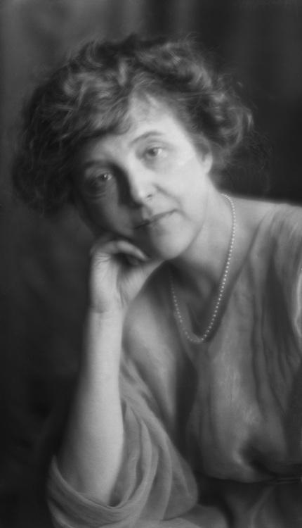 Zona Gale, American Author, 1921