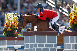 Minikus Todd, (USA), Babalou<br /> BMO Nations Cup<br /> Spruce Meadows Masters - Calgary 2015<br /> © Hippo Foto - Dirk Caremans<br /> 12/09/15