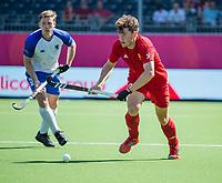 ANTWERPEN -  Scotland-England . Belfius Eurohockey Championship (men) hockey.    COPYRIGHT KOEN SUYK