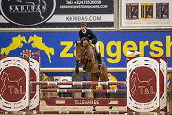 Van Beek Roy, BEL, Ciceron R Z<br /> Pavo Hengsten competitie - Oudsbergen 2021<br /> © Hippo Foto - Dirk Caremans<br />  22/02/2021