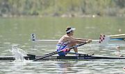 Ottensheim, AUSTRIA.   GBR LM1X Adam FREEMAN PASK, Morning B,C, and D finals, at the 2008 FISA Senior and Junior Rowing Championships,  Linz/Ottensheim. Sunday  27/08/2006.  [Mandatory Credit: Peter SPURRIER, Intersport Images] Rowing Course: Linz/ Ottensheim, Austria