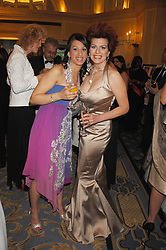 Left to right, PARAS GILL and CLEO ROCCOS at the Eastern Eye Asian Business Awards 2007 in the presence of HRH The Duke of York at the Hilton Park Lane, London on 8th May 2007.<br />