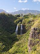 'Opaeka'a Falls on the Wailua River, Wailua River State Park, Kaua'i, Hawai'i