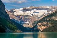 Glacier and Banff