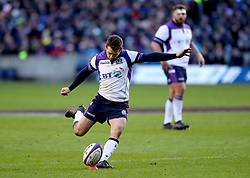 Scotland's Greg Laidlaw in action during the NatWest 6 Nations match at BT Murrayfield, Edinburgh.