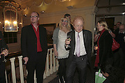 COURTNEY LOVE AND PETER ASHER, Literary Review's Bad Sex In Fiction Prize.  In & Out Club (The Naval & Military Club), 4 St James's Square, London, SW1, 29 November 2006. <br />