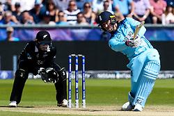 Jason Roy of England batting - Mandatory by-line: Robbie Stephenson/JMP - 03/07/2019 - CRICKET - Emirates Riverside - Chester-le-Street, England - England v New Zealand - ICC Cricket World Cup 2019 - Group Stage