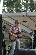 June 16, 2006; Manchester, TN.  2006 Bonnaroo Music Festival. Death Cab for Cutie performs at Bonnaroo 2006.  Photo by Bryan Rinnert