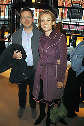MR JAMES BAKER and his wife TV presenter ANASTASIA COOKE at a party to celebrate the publication of 'Young Stalin' by Simon Sebag-Montefiore at Asprey, New Bond Street, London on 14th May 2007.<br /><br />NON EXCLUSIVE - WORLD RIGHTS
