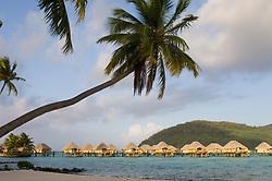 Bora-Bora, French Polynesia - 10/18/2006 - Pearl Beach Resort, Bora-Bora, French Polynesia.(Photo by Sharpshooters/VWPics) *** Please Use Credit from Credit Field *** *** Please Use Credit from Credit Field ***