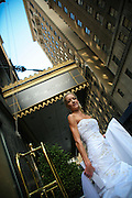 Bride In Front Of The Roosevelt Hotel New York