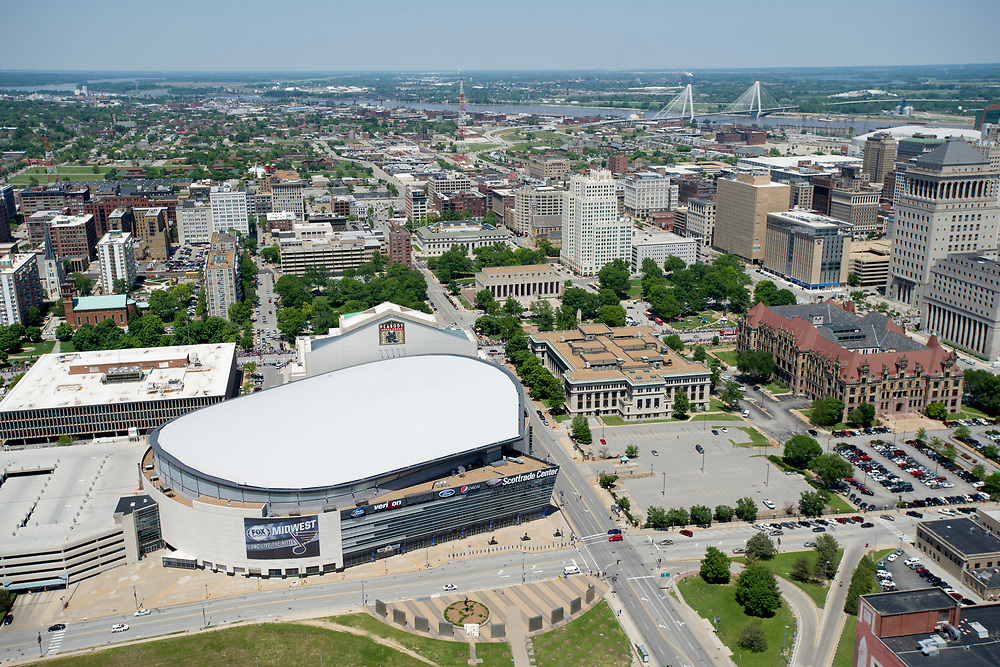 Scottrade Center in St. Louis on May 18, 2014.