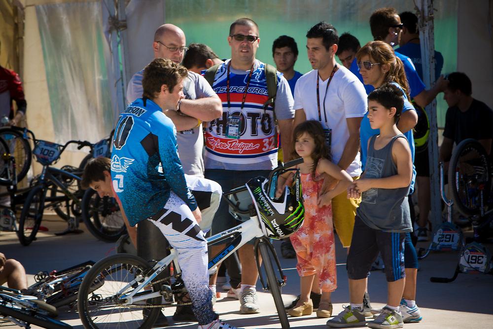 # 110 (CAPDEVILA Lautaro) ARG at the UCI BMX Supercross World Cup in Santiago del Estero, Argintina.