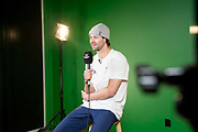 Pyeongchang 2018 Winter Olympics behind the scenes with Billy Morgan who won the bronze medal in the Olympic snowboard Big Air on the 24th February 2018 in Alpsensia, South Korea