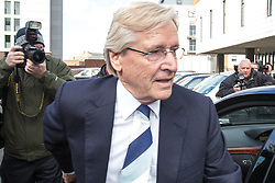 © Licensed to London News Pictures . 14/05/2013 . Preston , UK . BILL ROACHE MBE arrives at Preston Magistrates Court this morning (Tuesday 14th May 2013) . The Coronation Street star is accused of two counts of rape . Photo credit : Joel Goodman/LNP