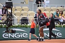 May 27, 2019 - Paris, France, FRANCE - Arrivee de Serena Williams  (Credit Image: © Panoramic via ZUMA Press)
